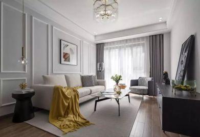 昆山97平古典现代混搭风格ballbet贝博网站案例 昆山三居室ballbet贝博网站设计