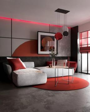 小戶型客廳沙發 公寓客廳裝修 公寓客廳效果圖片大全