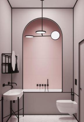 卫生间创意装修效果图 卫生间创意图片 卫生间设计与装修