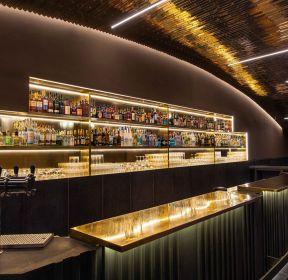 上海酒吧吧台酒柜装修设计图片2020-每日推荐