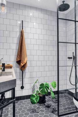 北歐風格衛生間淋浴房隔斷設計圖