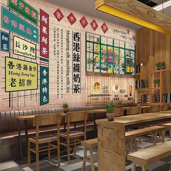 深圳茶餐厅装修