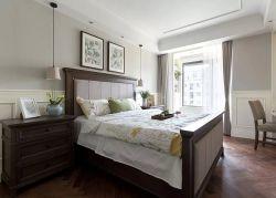 武漢美式風格新房臥室裝修設計圖