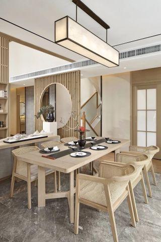 武汉高端別墅日式風格餐廳装修赏析