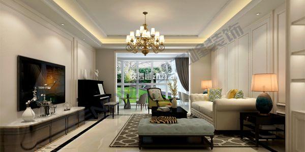 萬泉新新家園現代風格137平米设计方案