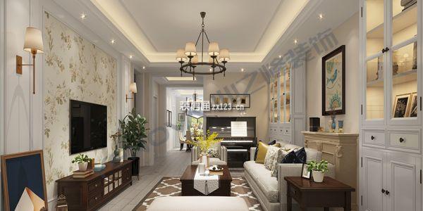 萬橡府美式風格173平米设计方案