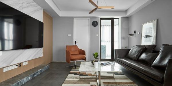 旭景兴园現代風格112平米设计方案