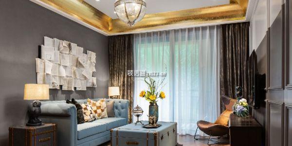 富邦壹品天城复古風格103平米设计方案