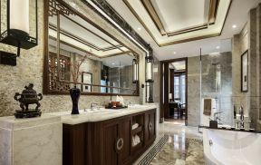 別墅浴室裝修圖 別墅浴室裝修圖片   中式浴室裝修效果圖