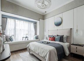 輕奢臥室效果圖 樣板房臥室裝修效果圖