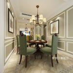 玉兰花园西一期美式风格150平米四居室装修案例