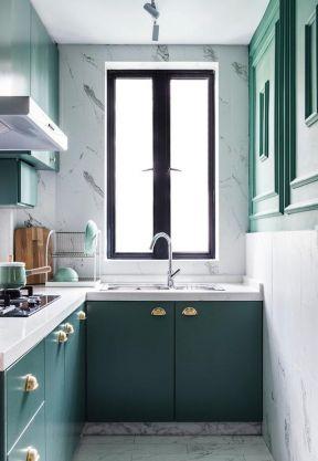 小戶型廚房裝修設計圖片 小戶型廚房裝修設計 廚房櫥柜顏色