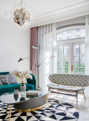 輕奢風格客廳 輕奢裝修風格效果圖