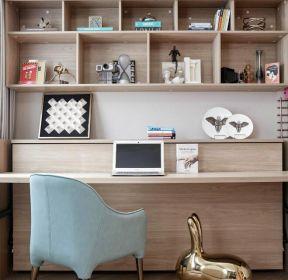 現代風格小戶型書房定制書桌設計效果圖-每日推薦
