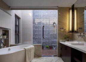 别墅浴室装修效果图