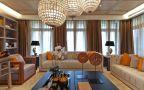 龍川麗景新中式風格124平米三居室裝修案例