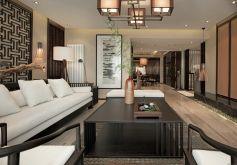 名城世家新中式風格144平米四居室裝修案例
