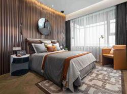 青島128平樣板房臥室裝修設計圖欣賞