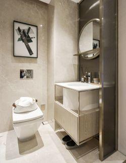 70平米小户型卫生间毛巾架装潢设计图_装修123效果图