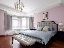武漢四室兩廳臥室壁紙裝修裝飾圖片