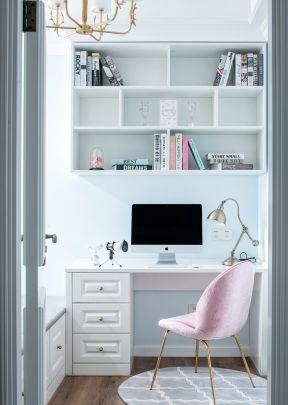 美式書房裝修 書房書柜裝修效果圖  美式書房裝修效果圖