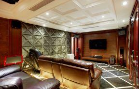 家庭影院裝修效果圖片  別墅影音室裝修 家庭影院裝修設計
