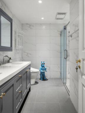 卫生间设计装修效果图 卫生间台盆柜设计图片