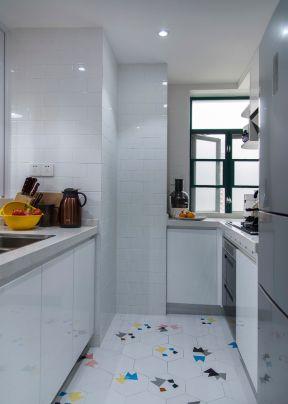 小戶型廚房圖片 小戶型廚房裝修設計 廚房地磚圖片