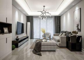 現代客廳裝飾效果圖 客廳吊頂裝修圖片
