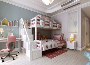 兒童房高低床裝修效果圖 兒童房設計裝修