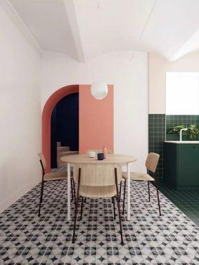 餐廳地磚效果圖 小戶型餐廳圖片 小戶型餐廳圖