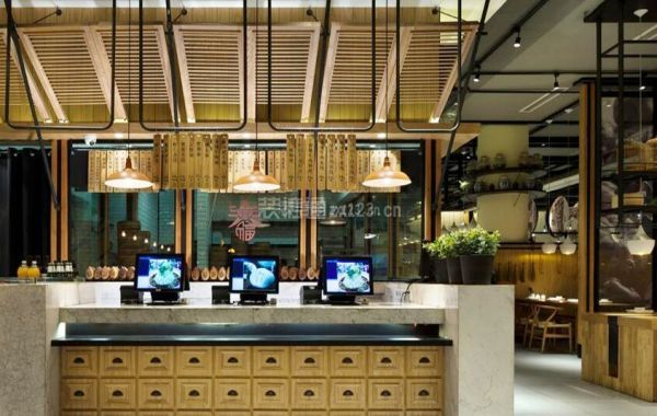 餐飲店服務臺設計
