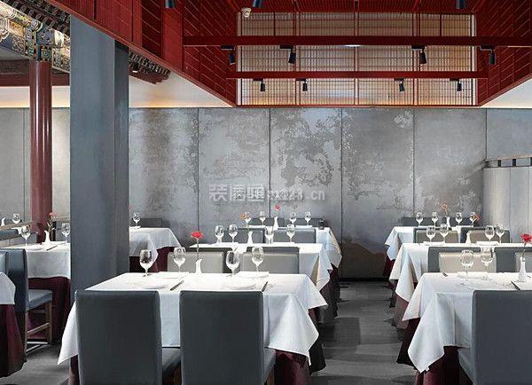 中式餐飲店裝修風格