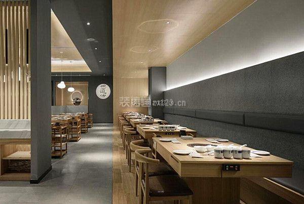 原木風餐飲店設計