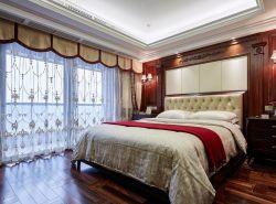 無錫歐式新房臥室實木地板裝修設計圖