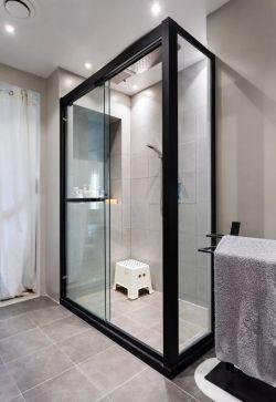 南京三室二廳衛浴間隔斷裝修實景圖