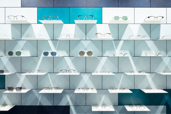 眼镜店设计形象