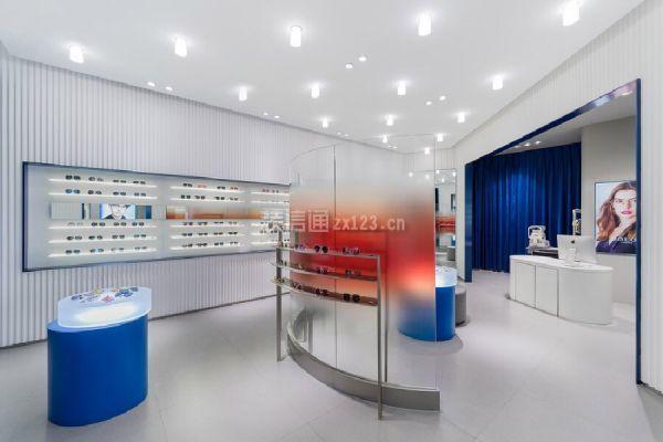 眼镜店展示区设计