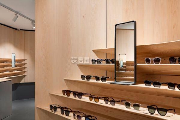 眼镜店灯光搭配设计
