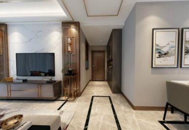 渭南城市人家装饰-渭南曦和·中央公园125平米三居室新中式风格装修效果图