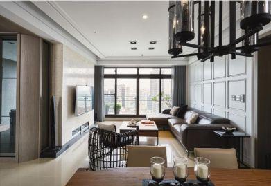 【渭南ballbet贝博网站公司】美林郡141平现代简约三居室案例参考