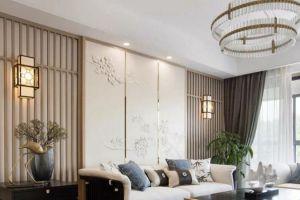 金丽豪苑三居122平新中式风格装修案例