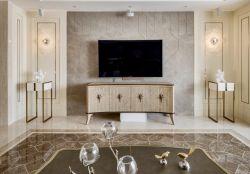 150平米新房客廳電視柜裝修效果圖