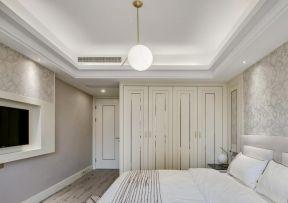 臥室衣柜擺放效果圖 臥室吊燈效果圖
