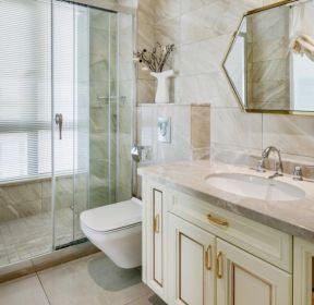 150平米轻奢风格房屋卫生间装修效果图-每日推荐