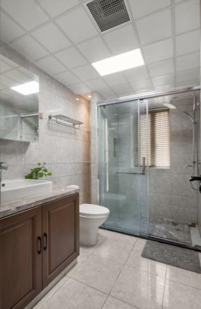 衛生間干濕分離裝修設計 衛生間吊頂裝修效果圖