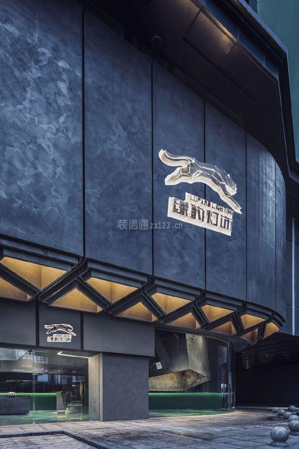 燈飾店門頭設計