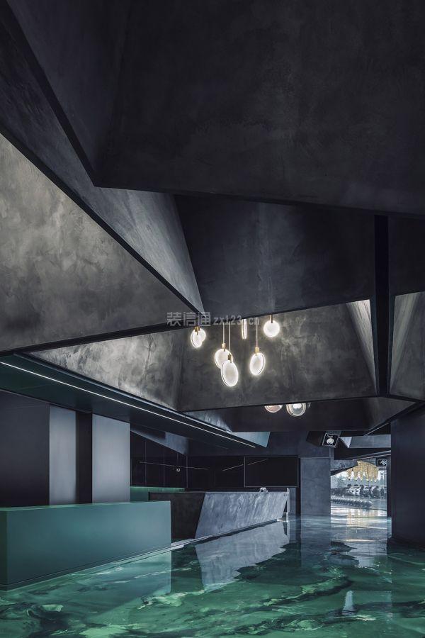燈飾店前臺服務區設計