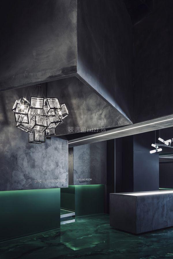 燈飾店洽談區設計
