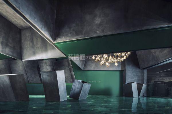 燈飾店工藝展示區設計